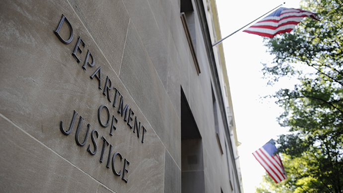 The exterior of the U.S. Department of Justice headquarters building in Washington (Reuters / Jonathan Ernst)