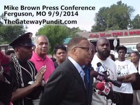 Video: Brown family attorney refusing to admit that Darren Wilson suffered facial injuries on the day of the shooting