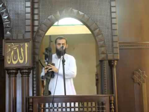 Video: More from the Religion of Peace. Imam whips it out (assault rifle) during sermon