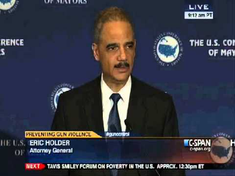Eric Holder Promises to Investigate Himself and Send Himself to Prison