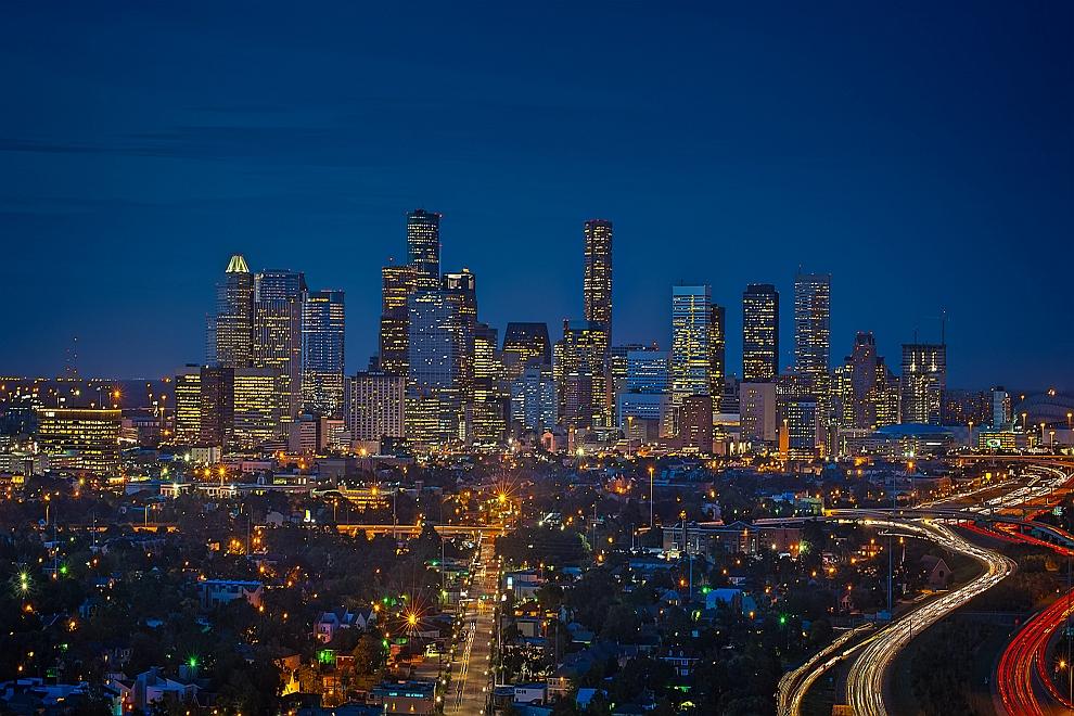 Houston skyline at night related keywords amp suggestions houston