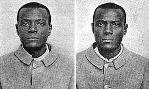10. Just an old photograph of twins right? Not exactly. These two men have the same name, were sentenced to the same prison, and look nearly identical. However, they are not in any way related and had never met each other prior being in the same prison. They are also the reason that fingerprints are now used in the criminal justice system.