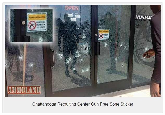 Chattanooga-Recruiting-Center-Gun-Free-Zone-Sticker