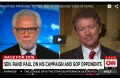 Rand Paul Whines About Main Stream Media Giving Trump Too Much Attention, Calling It A Loss Of Sanity