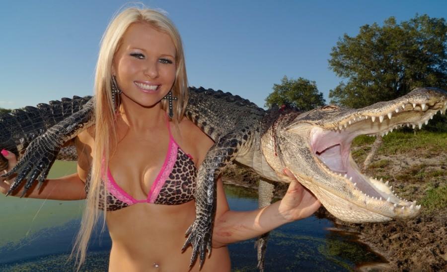 Florida gator bikini - Nude gallery