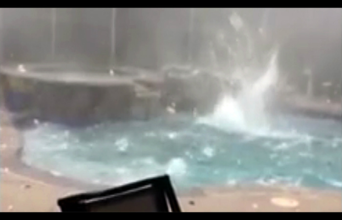 Video Incredible Slow Motion Footage Of A Devastating Hail Storm Nature Is Awesome 3