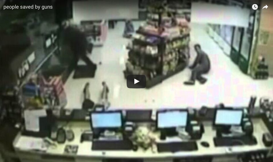 VIDEO Proof That Good Guys With Guns Save People From Evil