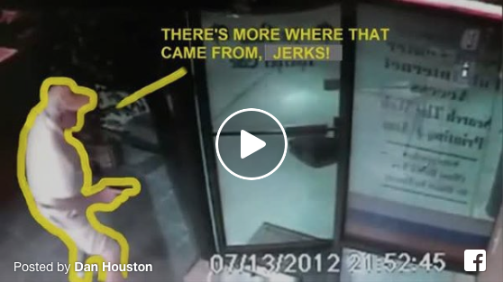 [WATCH] Armed Citizen Demonstrates How To Stop A Live Massacre (Three Security Camera Angles)