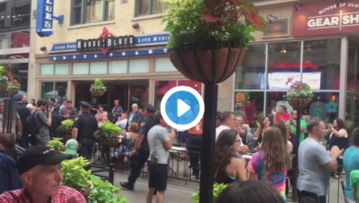 [WATCH] If Black Lives Matter Plans To Attack Cleveland Cops, They May Have To Fight This MOB