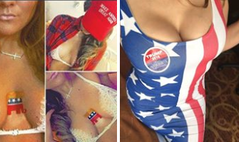 PHOTOS Show Things Heating Up Over At 'Trump Girls Break The Internet'