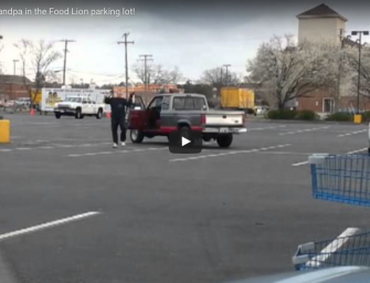[WATCH] Kung Fu Grandpa In The Food Lion Parking Lot!