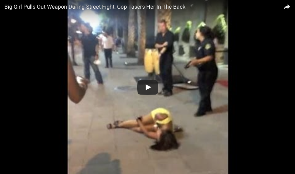[WATCH] Girl Threatens Cop, Learns To Regret It, But Was This Too Much Force?