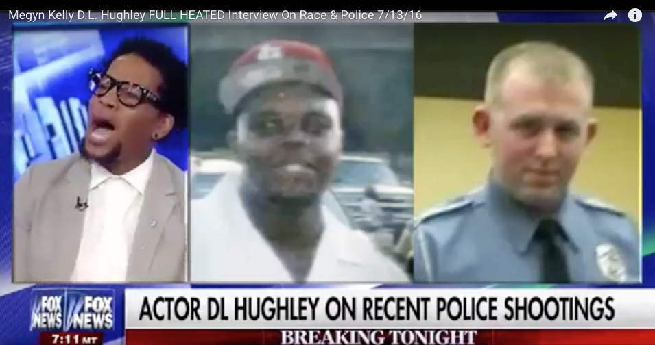 WATCH D.L. Hughley's Absurd Shouting Match With Megyn Kelly - You Can't Make This Stuff Up!