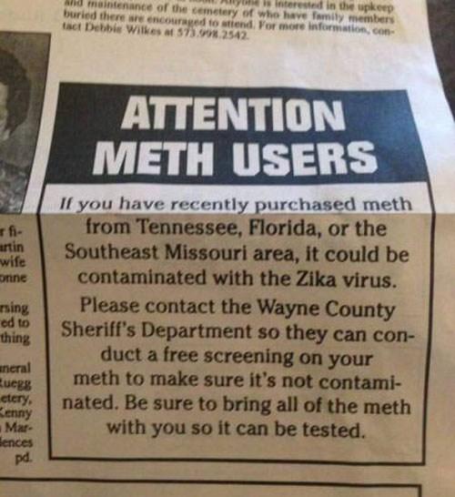 free-meth-testing