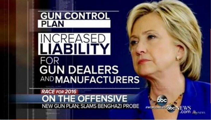 Hillary On Gun Control: Supreme Court Is WRONG On Second Amendment – 3%