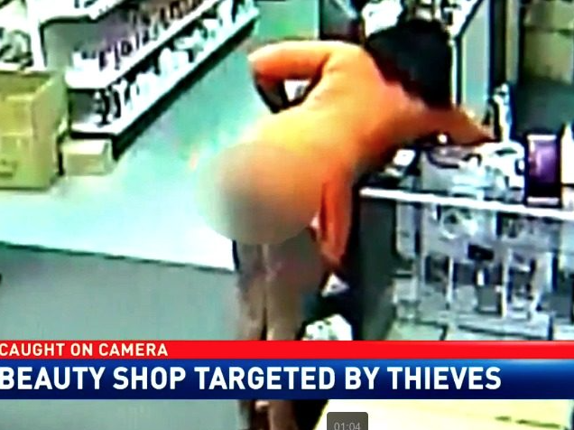 [WATCH] Beauty Store Owner Transforms Into Pistol-Packin' Mama