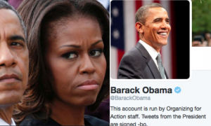 HELL FREEZES OVER, PIGS FLY - The Obamas Just DESTROYED Hillary On Twitter