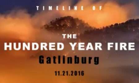 WATCH The Timeline Of The Devastating 100 Year Fire In Gatlinburg, Tennessee