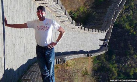 Can You See What Is Happening In This Mind-Bending Image Of The Great Wall Of China?