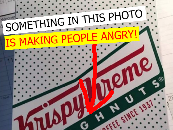 Krispy Kreme Forced To Apologize After Employee Serves This 'BLM' Box Of Doughnuts