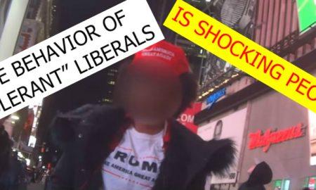 Hidden Camera EXPOSES How Liberals Treat A Black Woman In Trump Gear