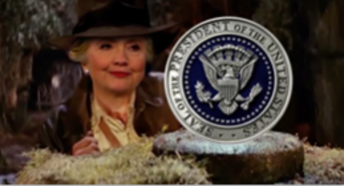 'Hillary Clinton And The Raiders Of The Lost Presidency' [VIDEO]