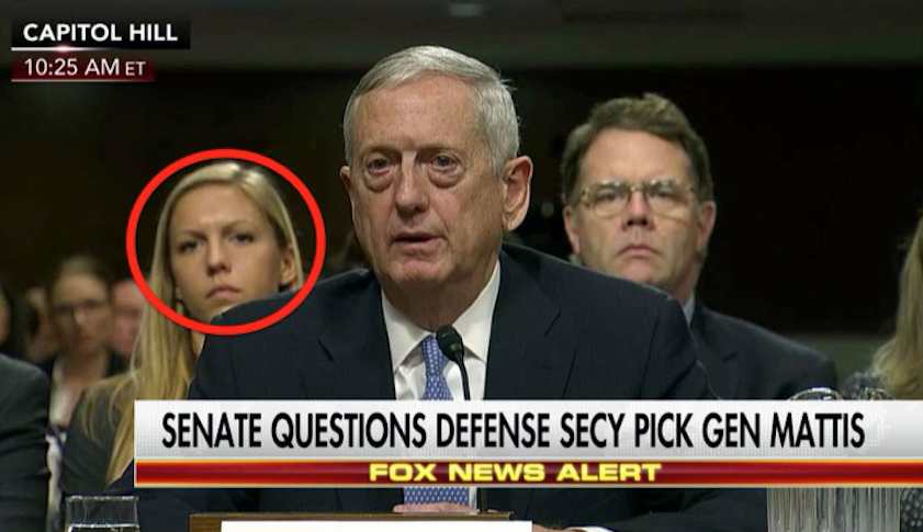 The Internet Noticed Something DISTRACTING At The 'Mad Dog Mattis' Confirmation Hearing