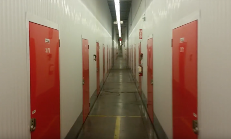 Homeless Guy Transforms A Storage Locker Into Unbelievably SICK Living Space
