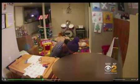 HIDDEN CAMERA Reveals This Nanny's Brutal Use Of A Hot Curling Iron On A Toddler
