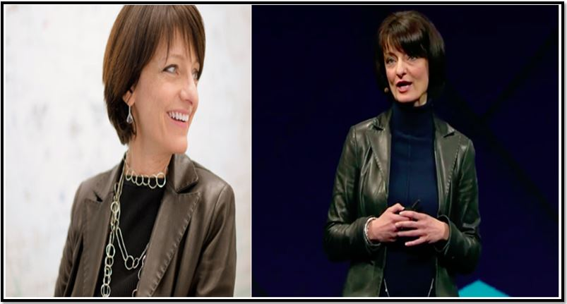 Facebook Building 8 R&D Division Head, Regina Dugan
