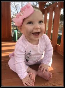 Eliana's photo 5 days since the incident at Busy Hands daycare