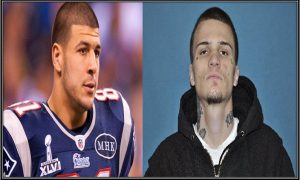 Aaron Hernandez (Left) and Kyle Kennedy (Right)