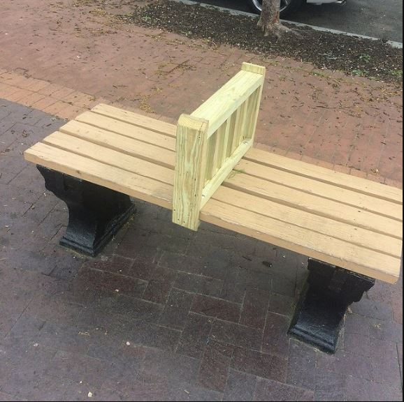 The bench on DC that