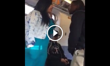 Teenager-Harasses-Mom-On-Subway-Quickly-Learns