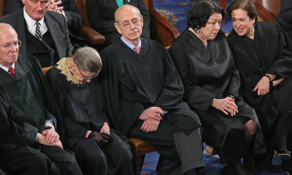 Disgusting: Ruth Bader Ginsburg Caught AGAIN on Camera Trashing United States Co...