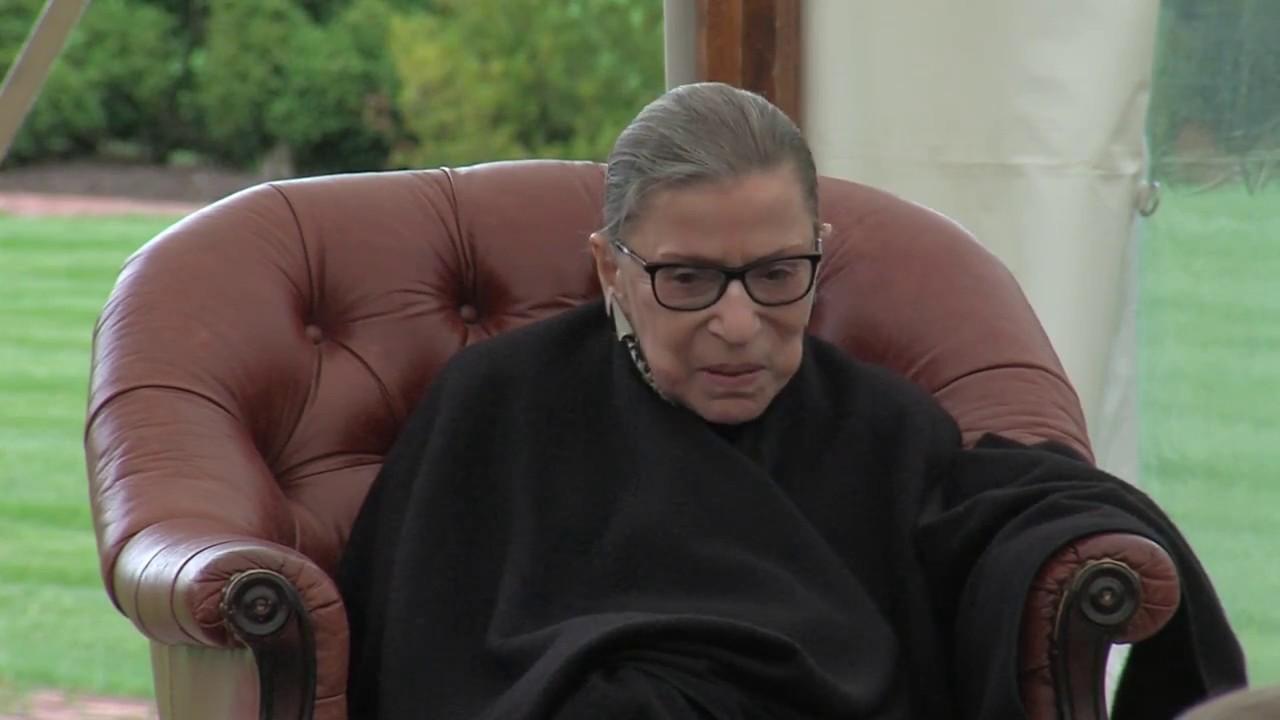 WATCH: Liberal Judge, Ruth Bader Ginsburg Gives Best ...