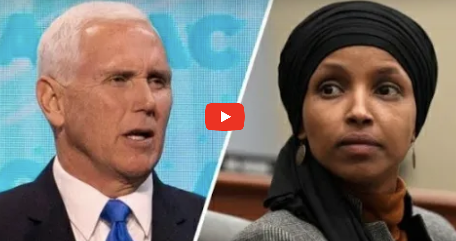 vp pence lays down the law  calls for ilhan omar u2019s removal