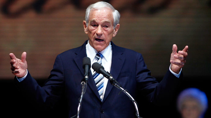 Ron Paul.(Reuters / Joe Skipper)