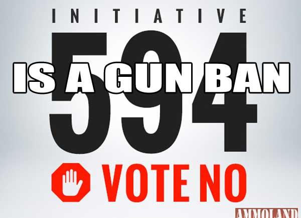 Initiative i-594 is a Gun Ban
