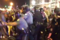 [WATCH] Ferguson Animals Riot As Jackass Police Chief Joins Protesters Demanding His Resignation