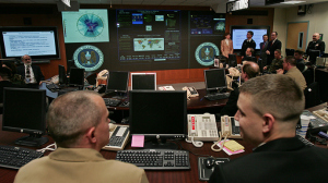 Threat Operations Center inside the National Security Agency (NSA) (AFP Photo)