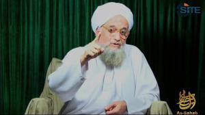 Al-Qaeda leader Ayman al-Zawahiri (AFP Photo / SITE)