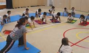 yoga and kiddies