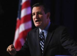 Sen. Ted Cruz (R-TX) speaks at the 2014 Values Voter Summit, Sept. 26, 2014 in Washington, DC. Mark Wilson—Getty Images