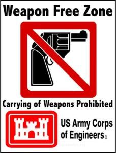 Army-Corps-of-Engineers-Gun-Free-Zones
