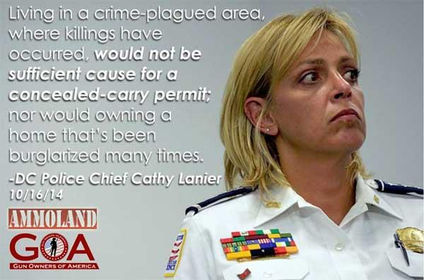D.C. Police Chief Cathy Lanier