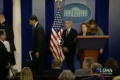 VIDEO– Washington press conference  Caught with ANOTHER HOT MIC!! This time about Ebola….. ' We Are All Screwed'