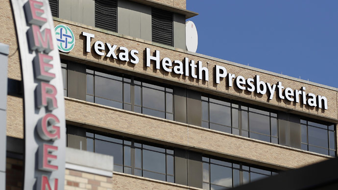 General view of Texas Health Presbyterian Hospital in Dallas, Texas October 1, 2014. (Reuters)