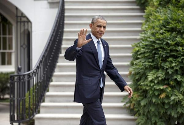 FILE - This July 22, 2014, file photo shows President Barack Obama as he departs the White House to board Marine One in Washington. The last time Republicans unleashed impeachment proceedings against a Democratic president, they lost House seats in an election they seemed primed to win handily. Memories of Bill Clinton and the campaign of 1998 may explain why Speaker John Boehner and the current GOP leadership want no part of such talk now. (AP Photo/J. Scott Applewhite, File) AP Photo/J. Scott Applewhite, File