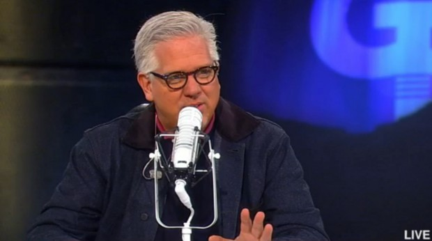 Glenn Beck speaks on his radio program November 4, 2014. (Photo: TheBlaze TV)